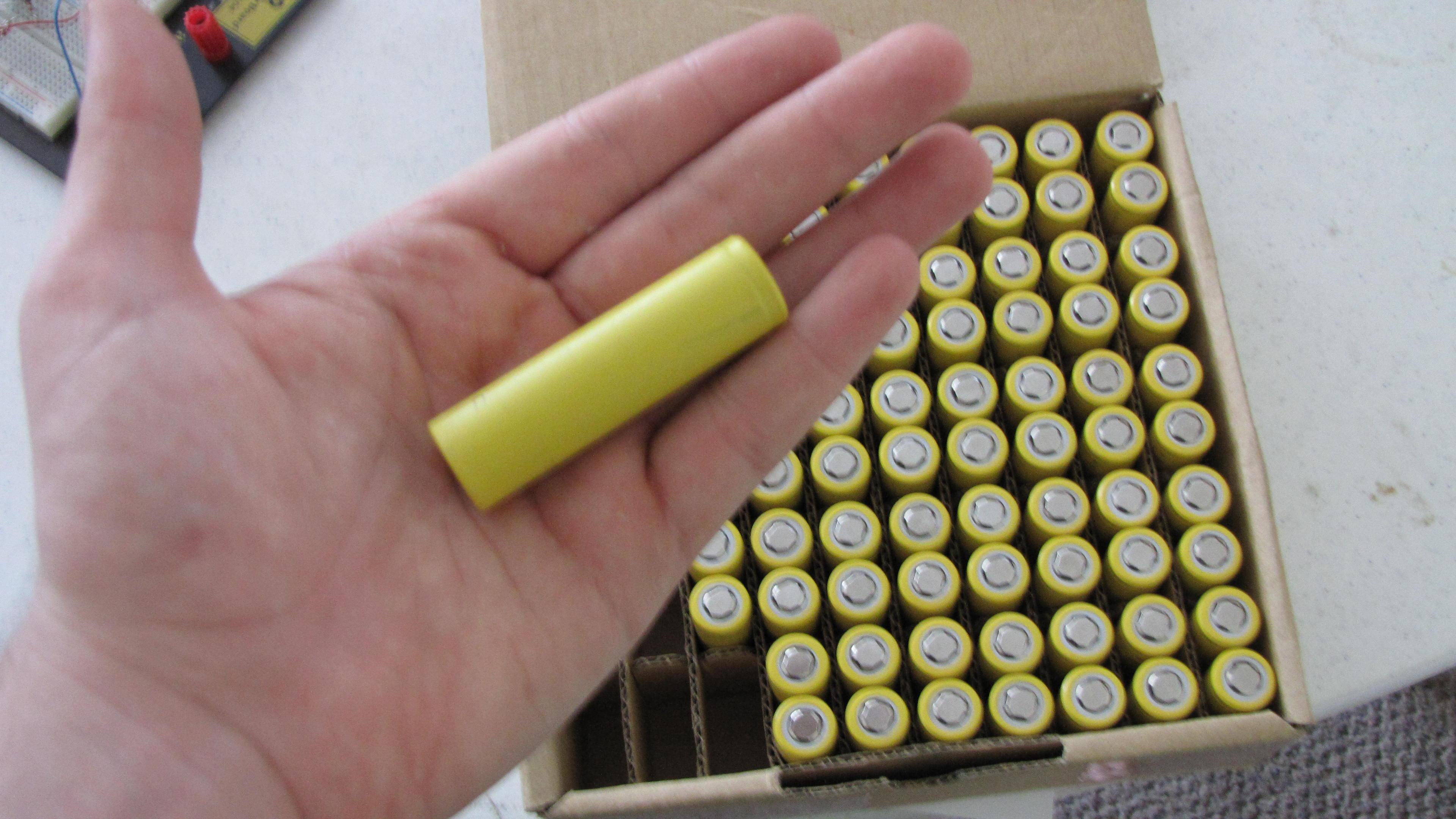 16650 A123 batteries