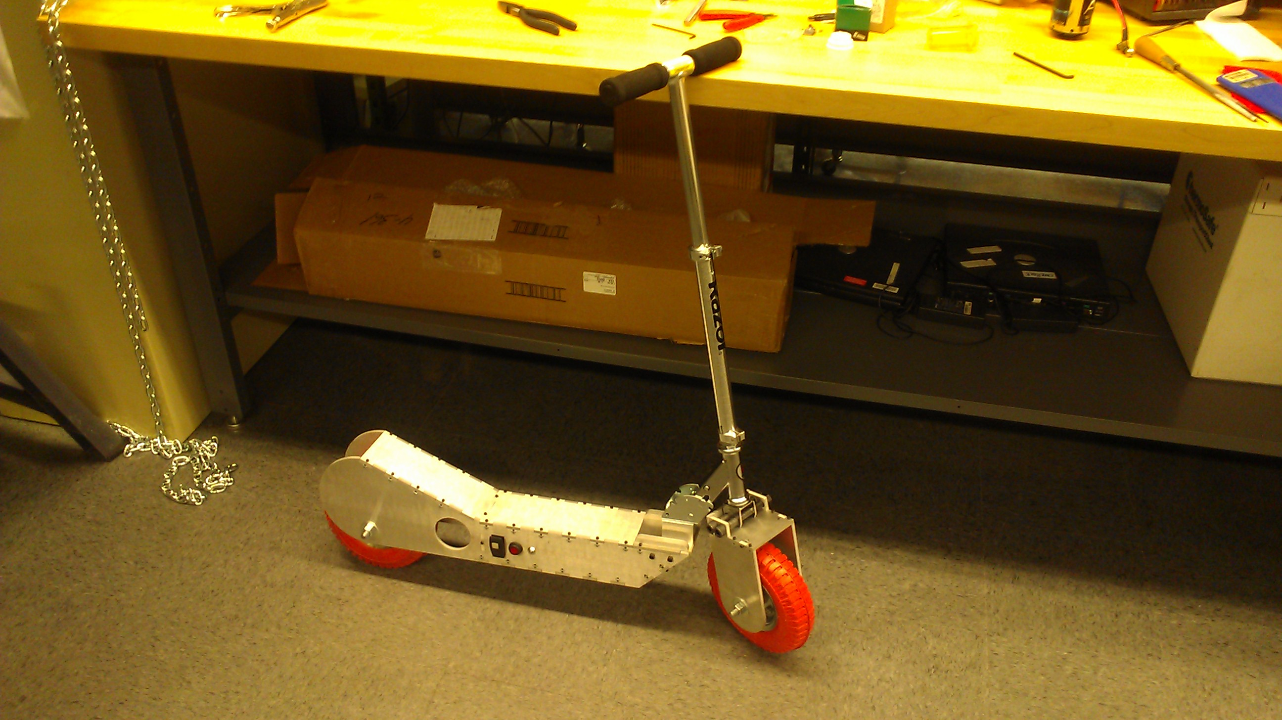 Assembled Scooter