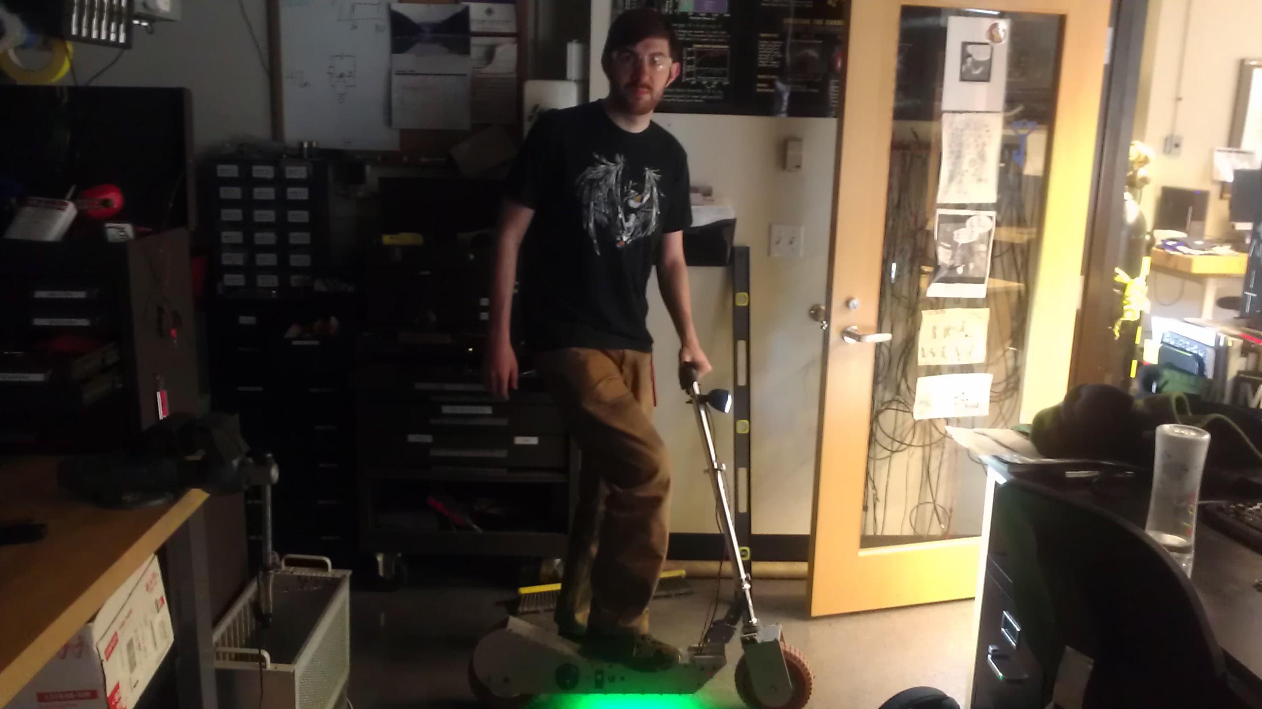 Mark 1 Scooter Under-glow