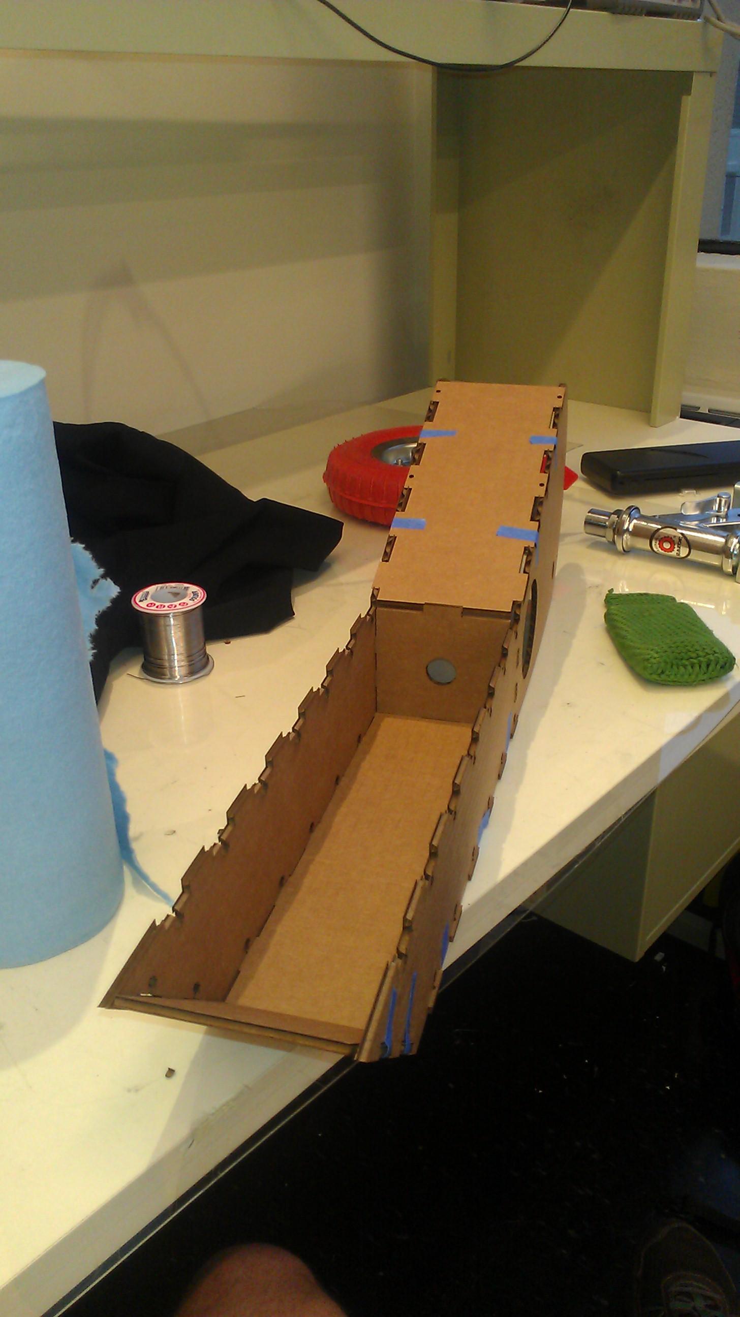 Laser Cut Cardboard 3