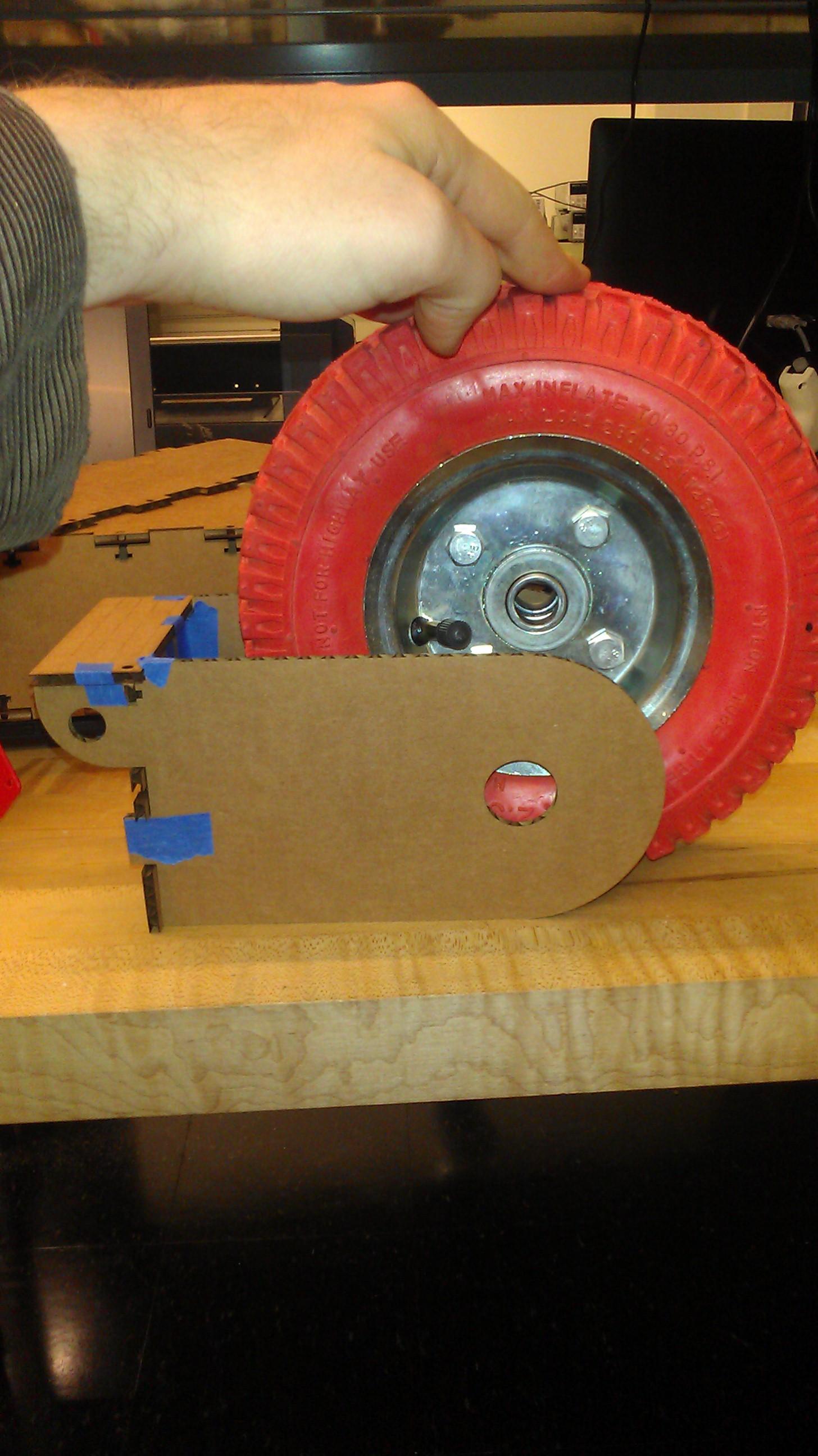Laser Cut Cardboard 8