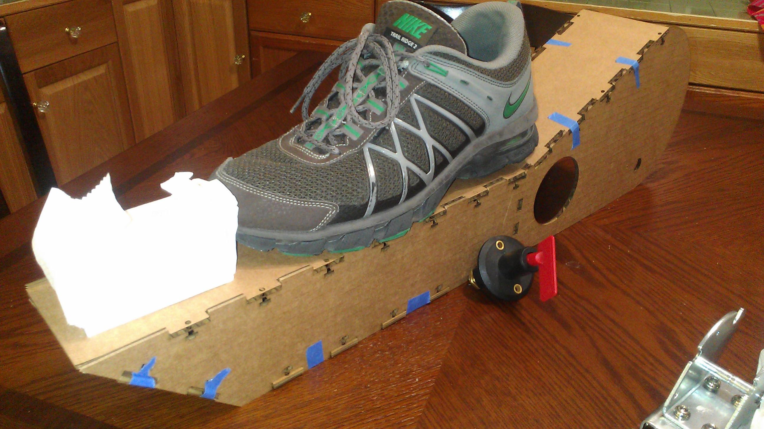 Laser Cut Cardboard 11