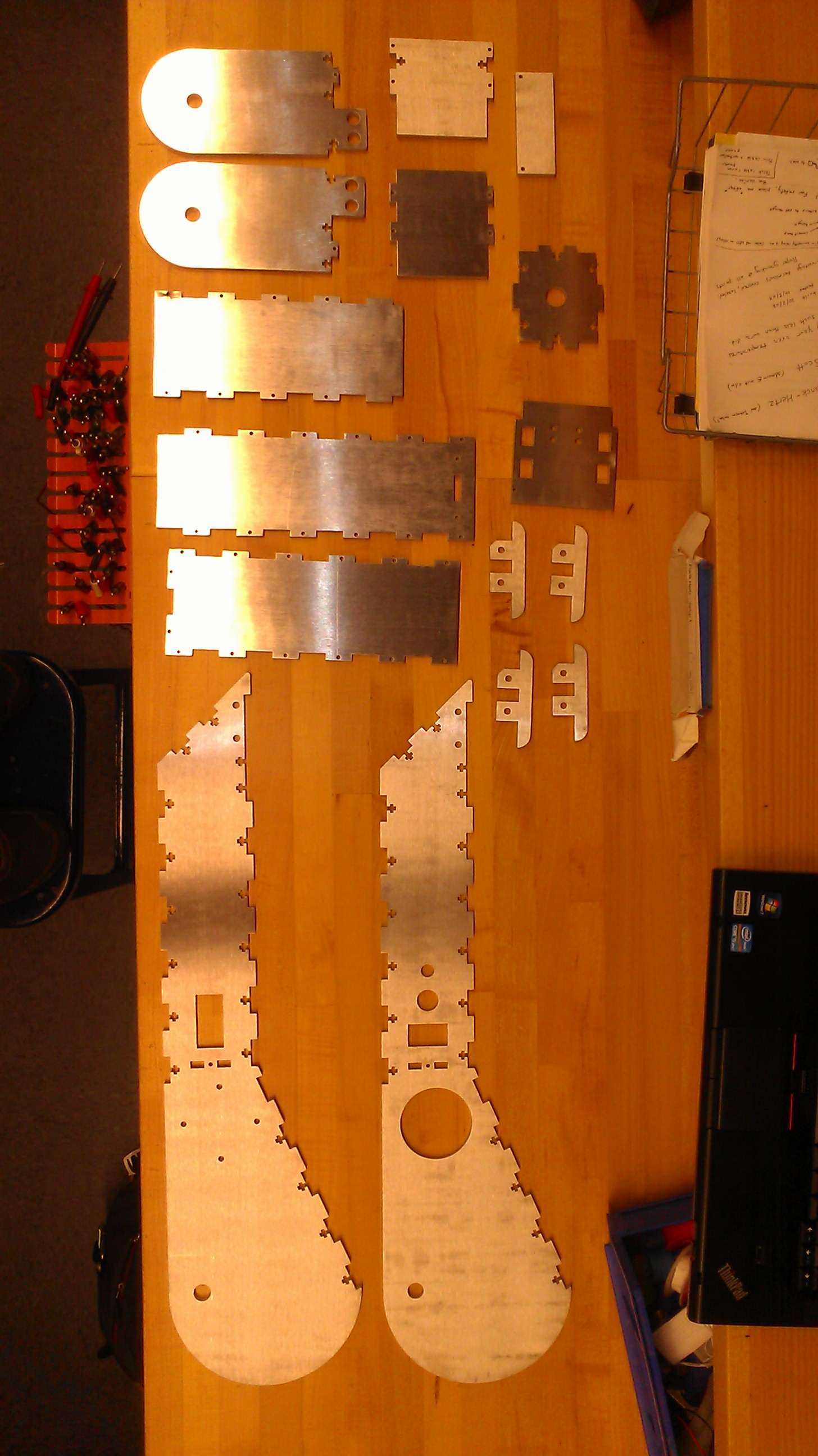 Waterjet parts 1