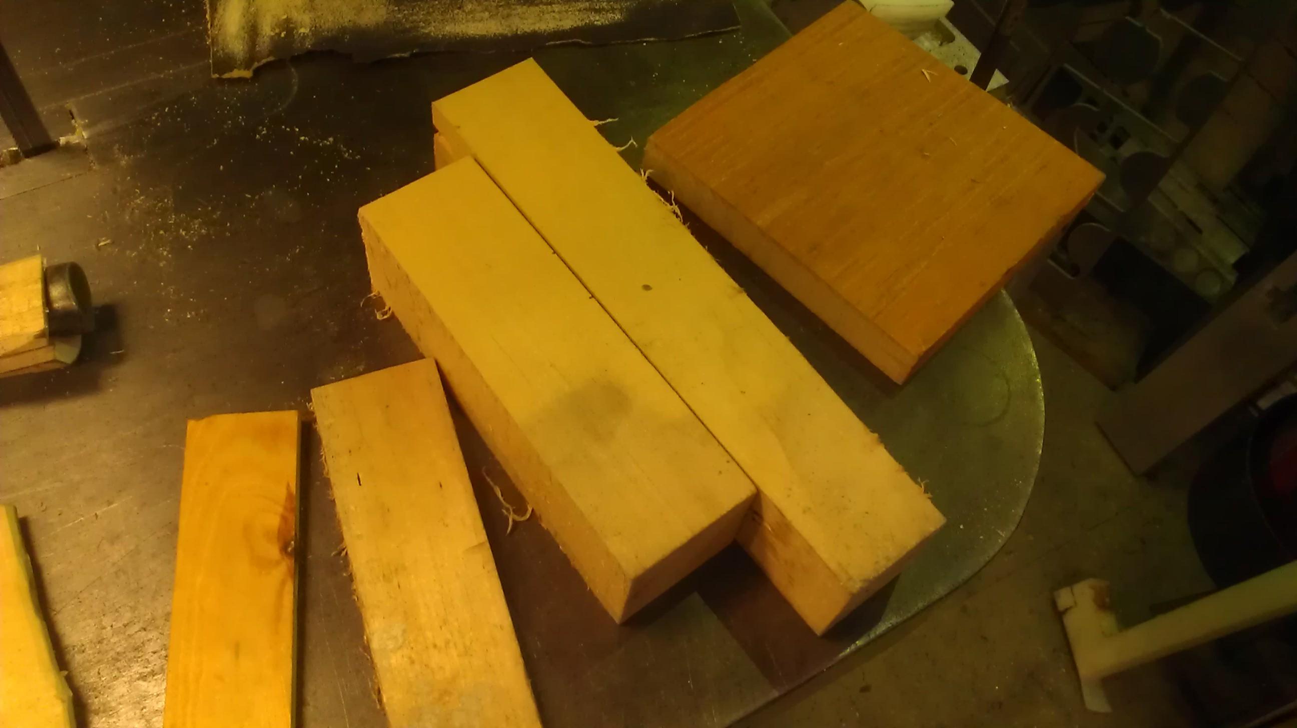 Scrap Wood Types 2