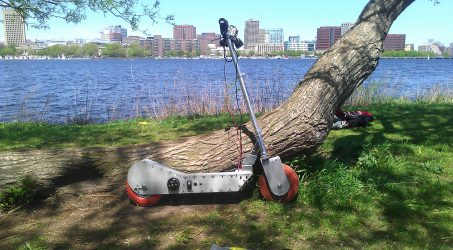 [Fall '12] The Hopper: A Personal City Transportation Vehicle
