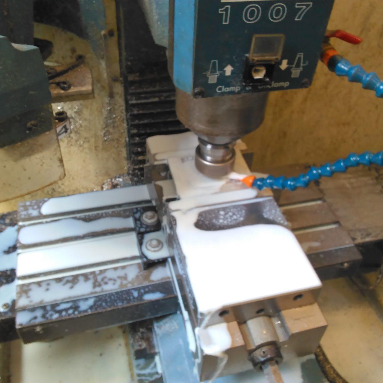 [8.3.16] Sintillator Fabrication (CNC)[Work Related]