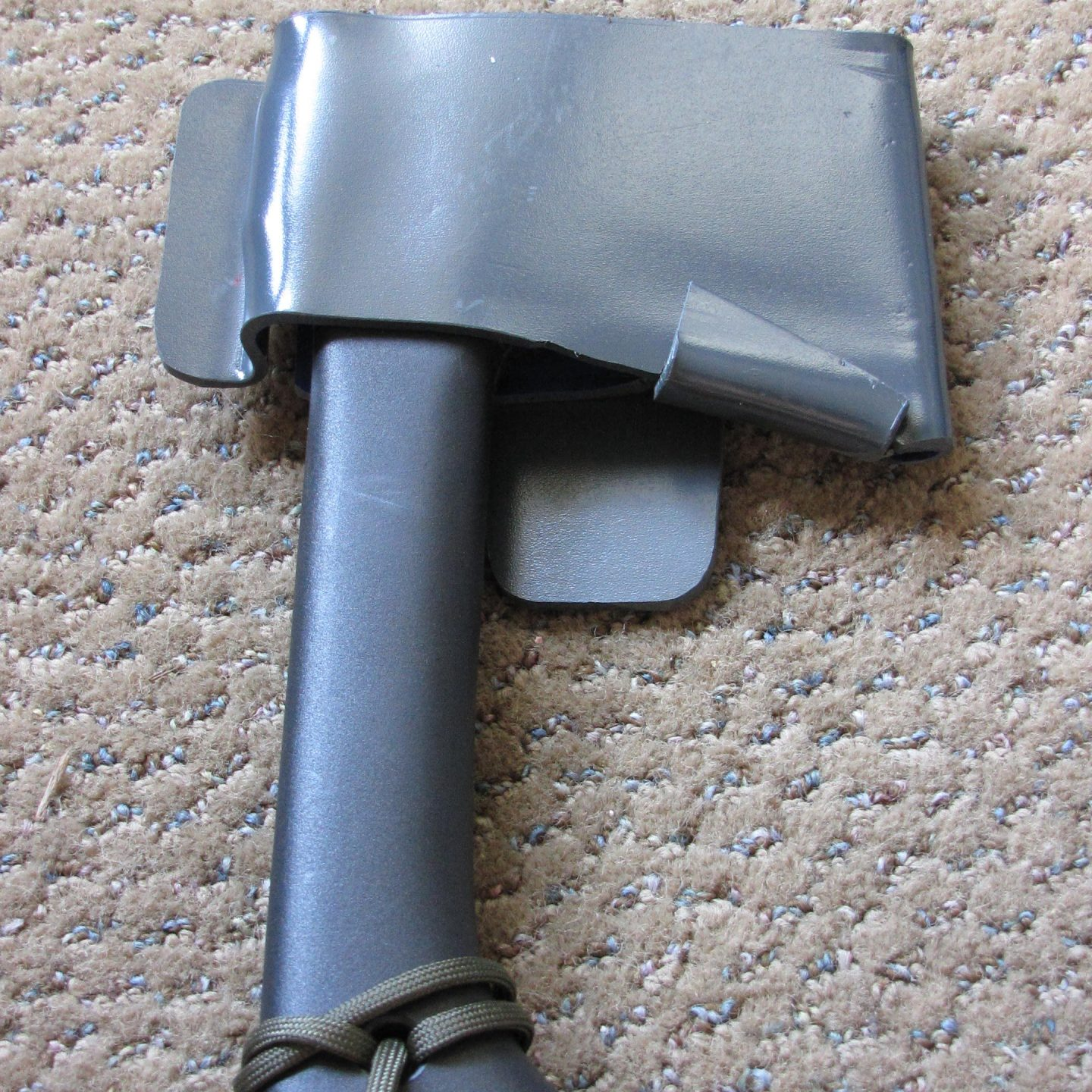 [09.15.11] Belt Hatchet Holder: Thermal Plastics