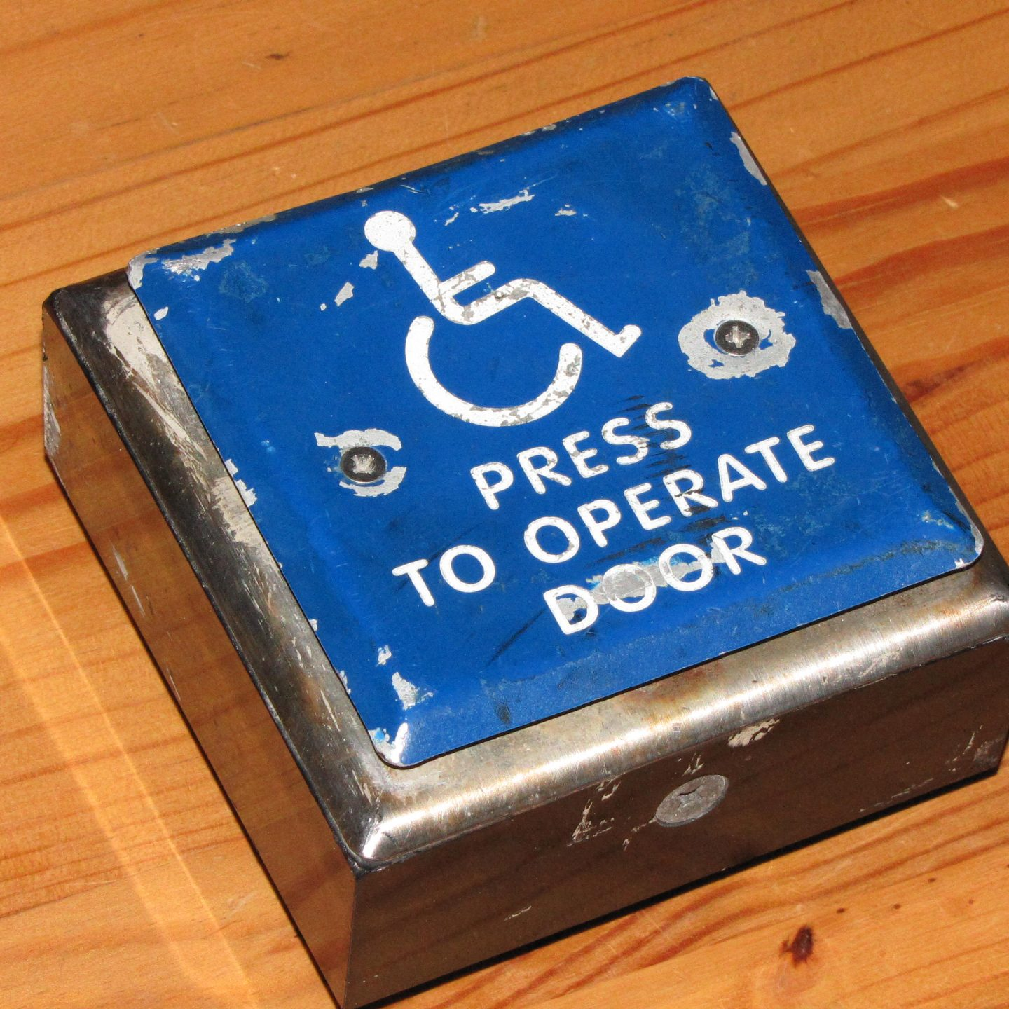 [1.14.2012]Handicap Button: Dis-assembly of a used Wireless Handicap Button